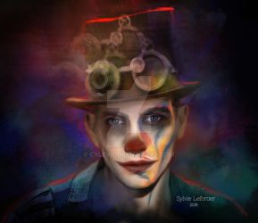 The Clown Man by cylevie