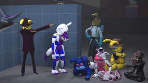 [4K] Hanging Out With Friends [SFM] by TIM-idator