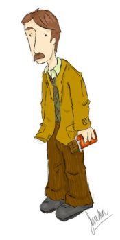 Remus J. Lupin by thesilentsidhe