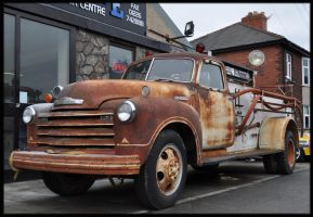 Chevrolet 1943 Fire Truck by Mosz
