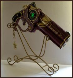 Bayonetta Gun by ras-blackfire