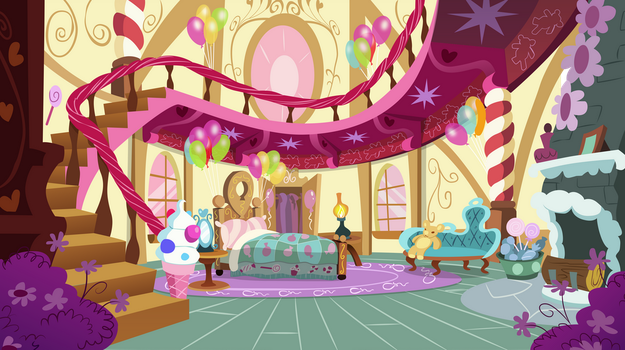 Pinkie Pie Bedroom by MLP-Silver-Quill