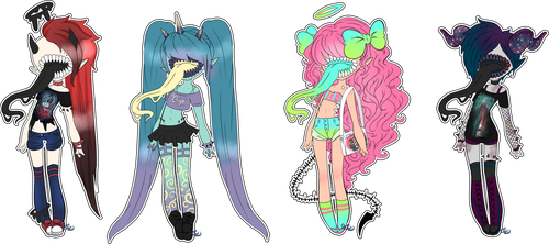 SALE Groupie Licker Collab Adopts Closed by XenoBaby