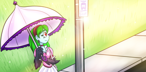 Waiting On The Bus by Twisted-Persona