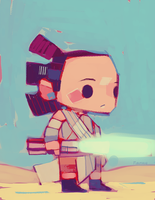 Rey-a-Day 84 by michaelfirman
