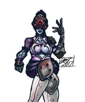 Widowmaker (Request) by DefinitionJoker
