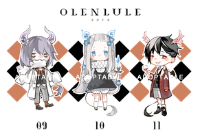Halloween Olenlule Adoptable [CLOSED] by sr1023