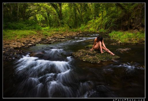 Art Nude Workshops - Landscape Nude Maui by aFeinNude