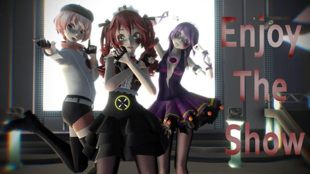 MMD Five Nights At Freddy's SL - Enjoy The Show by Torchic73