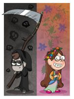 Life and Death-Gravity Falls by Piddies0709