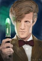 Eleventh Doctor / Doctor Who by MaartenvanMeer