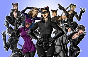 Nine Lives of Selina Kyle by ADL-art