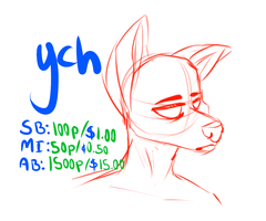 Canine Ych ||CLOSED|| by RAT-VIBES