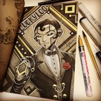 The Dapper Drag King Detective by 47ness