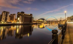 Newcastle's Quayside by rephocus