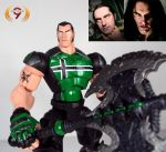 Peter Steele action figure by Unicron9