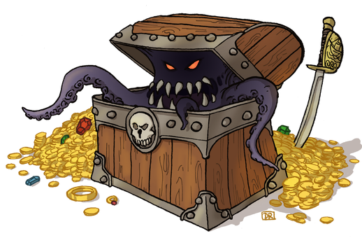Pirate Mimic by Domigorgon
