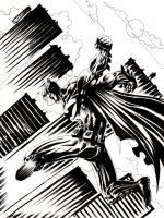 DND Paris : Batman by emalterre