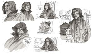 Snape and Harry Potter Medley by kyla79