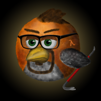 Gordon Freeman - Angry Bird by Valnushka