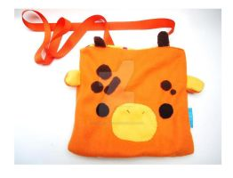 Giraffe Messenger Bag by CosmiCosmos