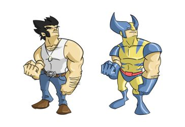 wolverine color by 8JR8