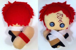 Gaara of the Sand plushie - Naruto by mcmuter