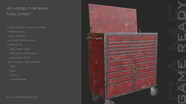 PV3D - Tool Chest by PaulV3Design