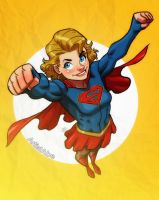 Supergirl by ArtistAbe