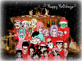 DBZ Christmas 2008 by Dickie2008