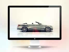 *Mercedes-Benz CLS Cabriolet wall pack by GLoRin26