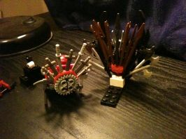 Behind Iron Throne by JellyfishGreen