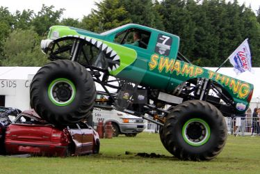 Monster Truck 03 - Swamp Thing by gopherboy76