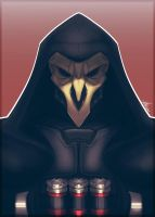 Overwatch - Reaper by spookycoin