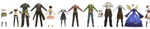 Atelier Clothes Pack 1 DOWNLOAD by Reseliee