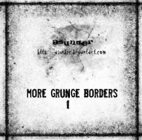 More grunge borders - 1 by asunder
