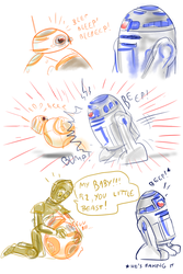 Droid Drama by SnappySnape