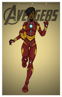 Marvel's Ironheart Redesigned by Femmes-Fatales