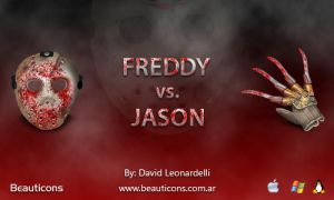 Freddy vs Jason by seifito