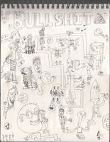 A Gigantic Page of Bullshit by Vigorousjammer