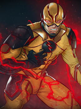 Injustice 2: Reverse Flash by Leroy-Fernandes