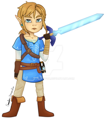Link Breath Of The Wild Chibi~