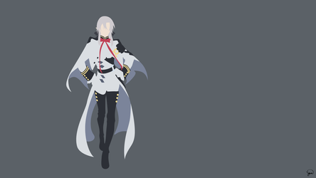 Ferid Bathory (Owari no Seraph) Minimalism by greenmapple17
