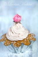Walnut Cream Cupcake I by Lily-of-the-Vallley