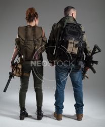 Post Apocalyptic Group 41 - Stock Photography by NeoStockz
