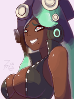 Marina [Splatoon] by ZenMimic