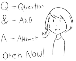 [Q AND A is Open now] by pakwan02