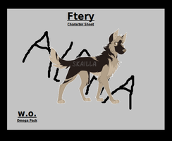 Fiery Character_Sheet by PowerXnetwork