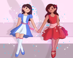 a scheduled post?? yikes [ marliza ] by oh-no-Castiel