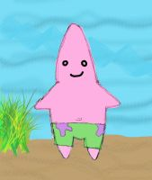 Patrick Star 'colour' by macacco
